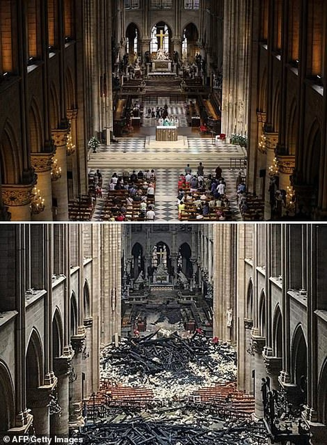 Nhà thầu trùng tu Nhà thờ Đức Bà lên tiếng giữa nghi vấn gây ra hỏa hoạn - 4