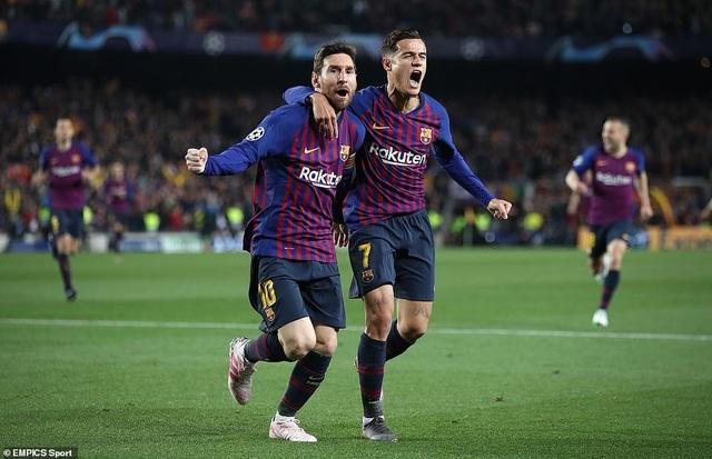 Những khoảnh khắc Messi khiến Man Utd tan vỡ giấc mơ Champions League - 4