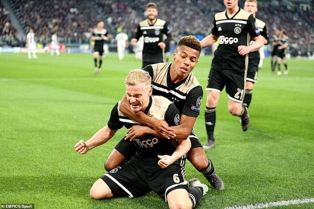 """Những khoảnh khắc Ajax """"đá văng"""" C.Ronaldo và Juventus khỏi Champions League - 12"""
