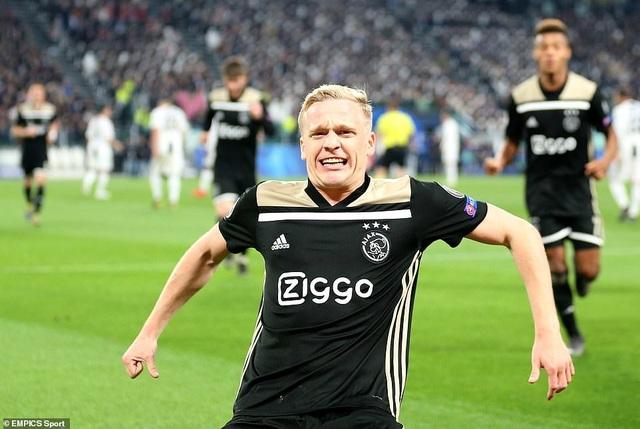 """Những khoảnh khắc Ajax """"đá văng"""" C.Ronaldo và Juventus khỏi Champions League - 15"""