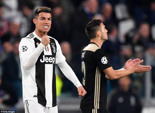 """Những khoảnh khắc Ajax """"đá văng"""" C.Ronaldo và Juventus khỏi Champions League - 5"""