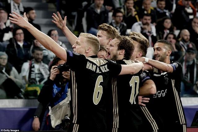 """Những khoảnh khắc Ajax """"đá văng"""" C.Ronaldo và Juventus khỏi Champions League - 14"""