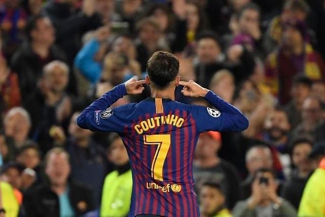 Barcelona 3-0 Man Utd: Lionel Messi chói sáng - 5