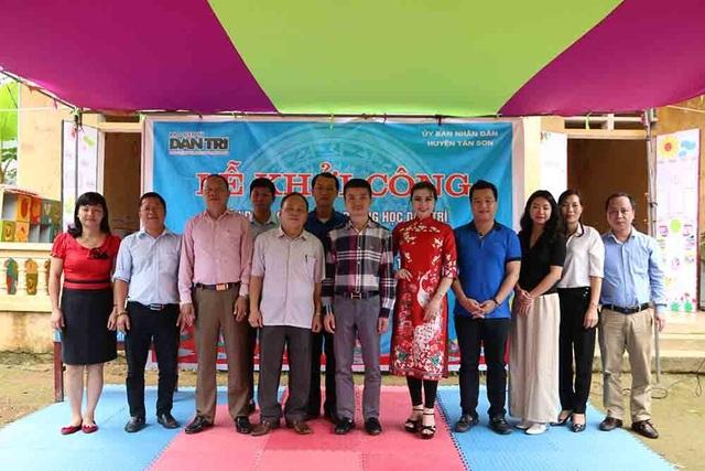 Khởi công xây dựng phòng học Dân trí thứ 24 tại điểm trường Khu Măng, Phú Thọ - 2