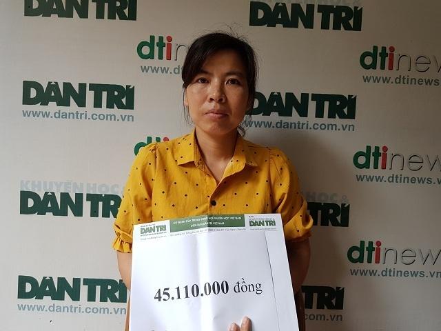 Hơn 45 triệu đồng của bạn đọc Dân trí trợ giúp gia đình cô Duyên - 2