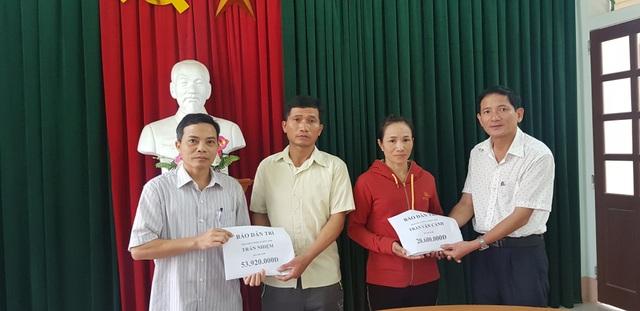 Hơn 70 triệu đồng đến với 2 hoàn cảnh đau thương ở Làng Quỳnh - 2
