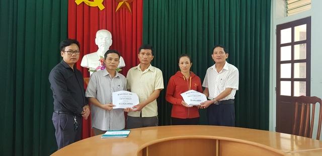 Hơn 70 triệu đồng đến với 2 hoàn cảnh đau thương ở Làng Quỳnh - 1