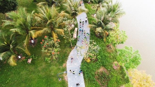 Cộng đồng runners ngất ngây với đường chạy xanh đẹp nhất miền Bắc - 2