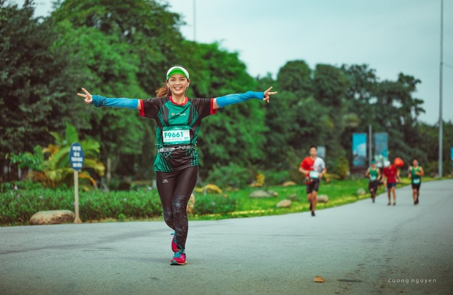 Cộng đồng runners ngất ngây với đường chạy xanh đẹp nhất miền Bắc - 6