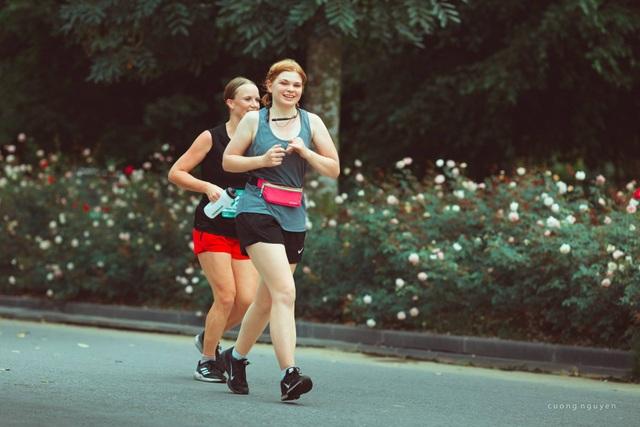 Cộng đồng runners ngất ngây với đường chạy xanh đẹp nhất miền Bắc - 8
