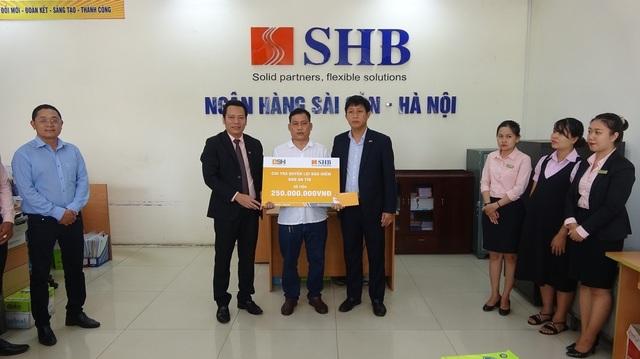 Một khách hàng được bồi thường 250 triệu khi mua bảo hiểm tín dụng BSH - 1
