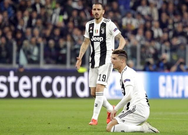 C.Ronaldo nổ súng, Juventus vẫn bị loại khỏi Champions League - 5