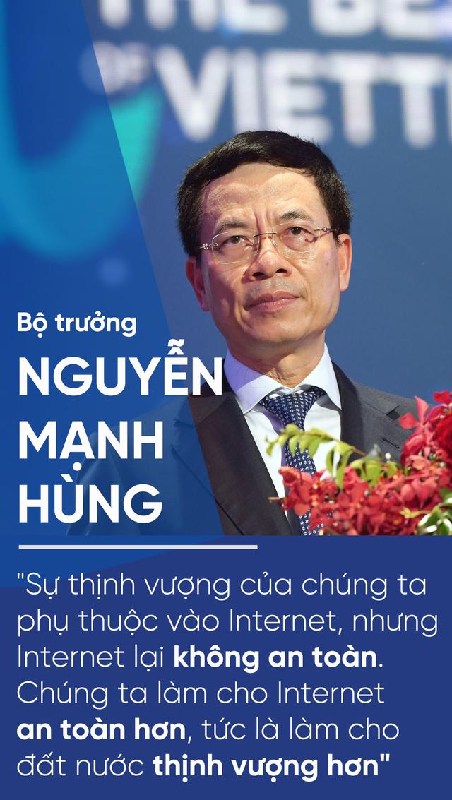 Bộ trưởng Nguyễn Mạnh Hùng: Làm cho Internet an toàn hơn, tức là làm cho đất nước thịnh vượng hơn - 2