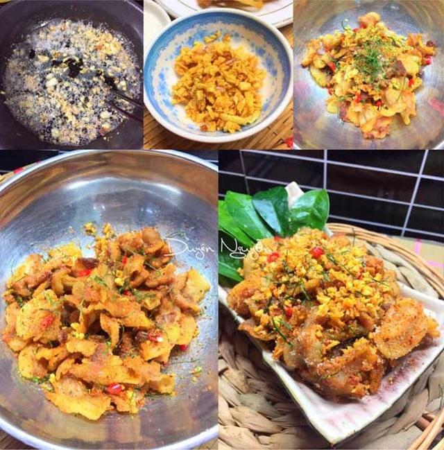 Cách làm món tóp mỡ rang muối ớt đơn giản mà đưa cơm - 4