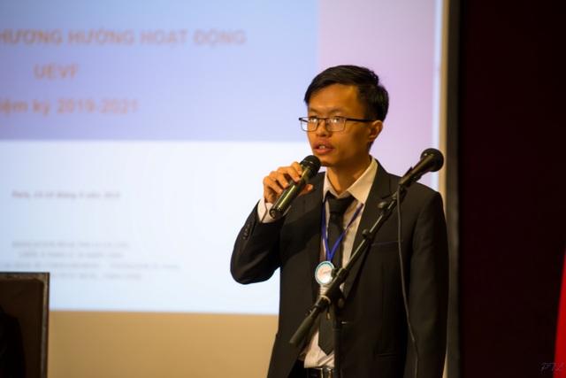 Đại hội Đại biểu Hội Sinh viên Việt Nam tại Pháp nhiệm kỳ 2019 - 2021 - 2
