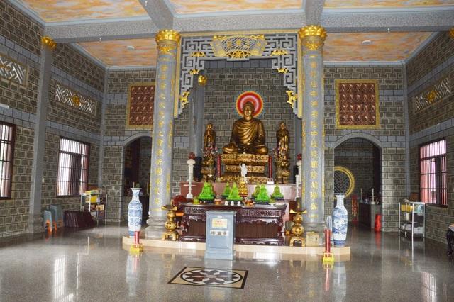 Độc đáo chùa xây bằng đá nguyên khối ở Sóc Trăng - 5