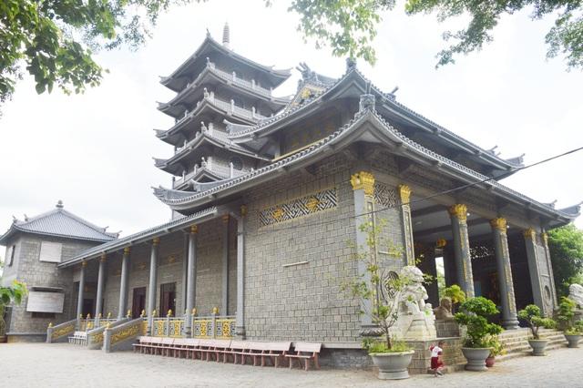 Độc đáo chùa xây bằng đá nguyên khối ở Sóc Trăng - 7