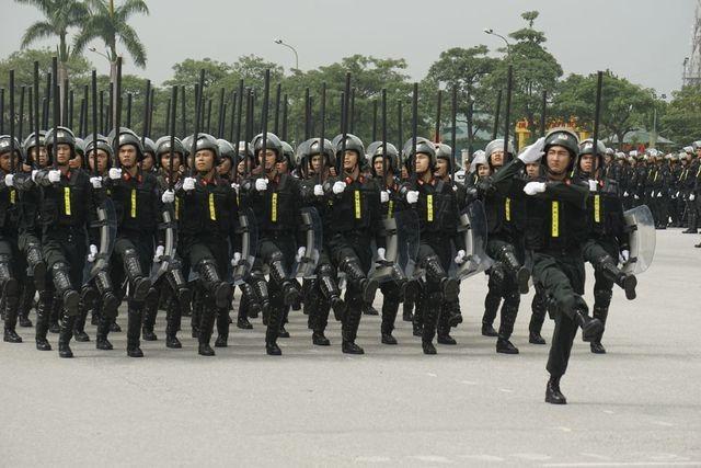Tập trung hiện đại hóa lực lượng An ninh, Tình báo, Cảnh sát cơ động - 1