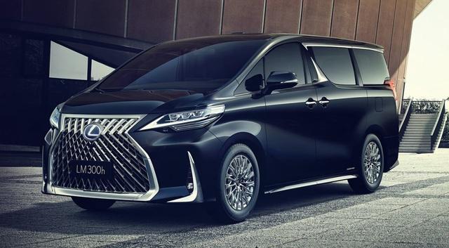 Lexus chính thức giới thiệu mẫu LM MPV - 1