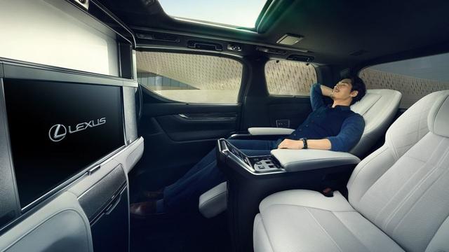 Lexus chính thức giới thiệu mẫu LM MPV - 6