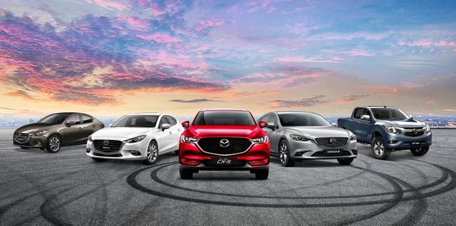 Mazda: Những mẫu xe top trong phân khúc - 1