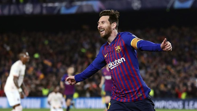 Barcelona 3-0 Man Utd: Lionel Messi chói sáng - 1