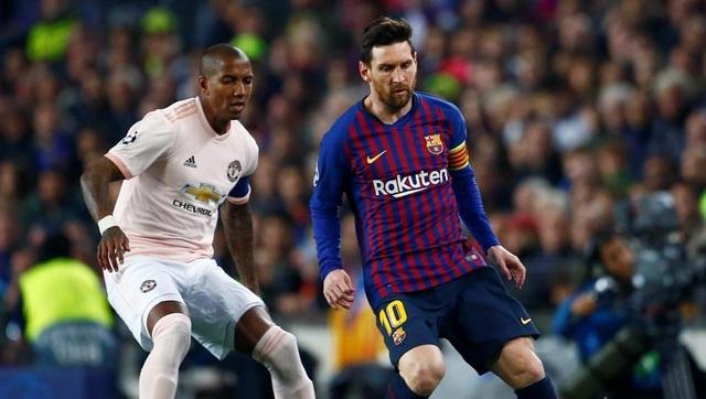 Barcelona 3-0 Man Utd: Lionel Messi chói sáng - 10