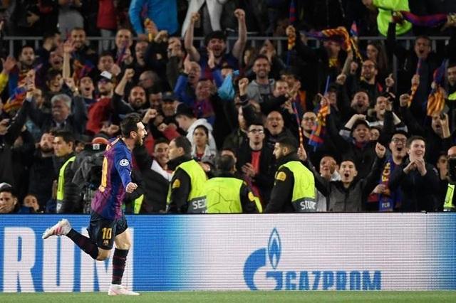 Barcelona 3-0 Man Utd: Lionel Messi chói sáng - 6