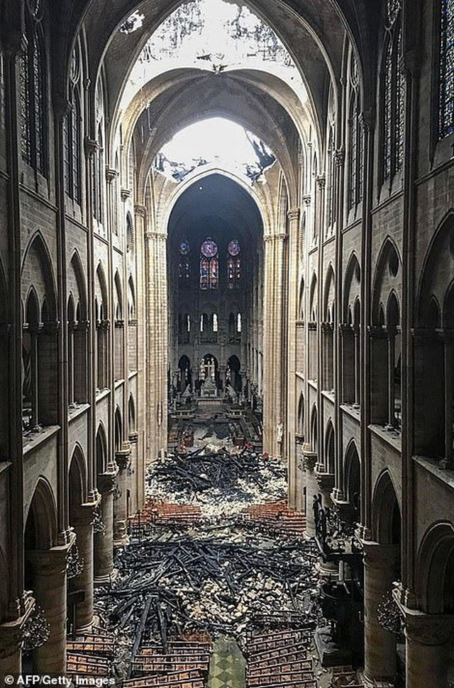 Lý do khiến Nhà thờ Đức Bà Paris khó có thể phục dựng như nguyên bản - Ảnh minh hoạ 2