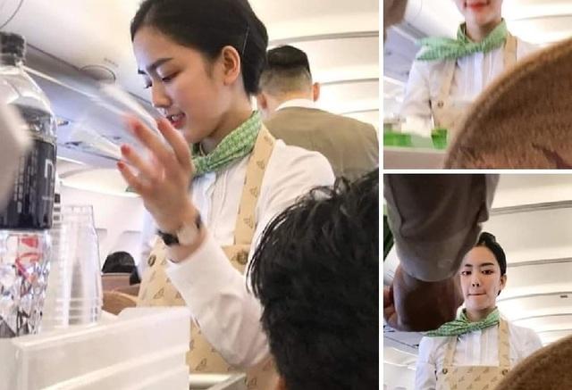 Nữ tiếp viên hàng không 9x khiến dân mạng xao xuyến vì quá xinh - 1
