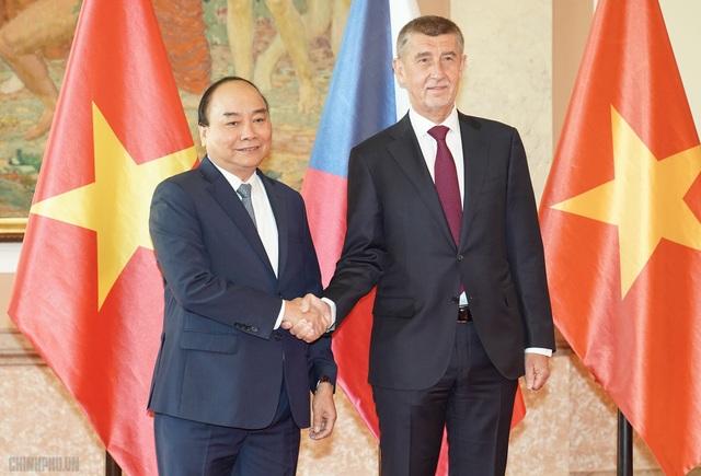 Tuyên bố chung Việt Nam - Cộng hòa Séc - 1