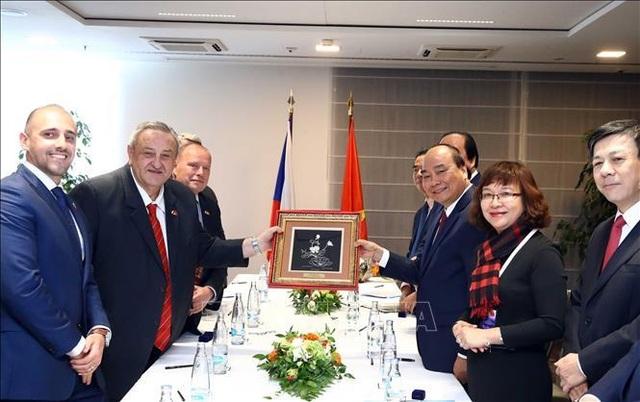 Thủ tướng Nguyễn Xuân Phúc thăm chính thức Cộng hòa Séc - 1