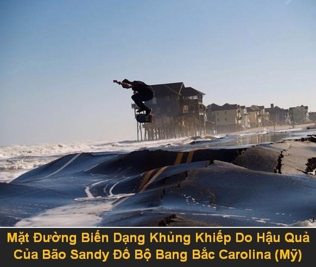 """Bộ ảnh """"rợn người"""" về sức tàn phá của các thảm họa tự nhiên - 4"""