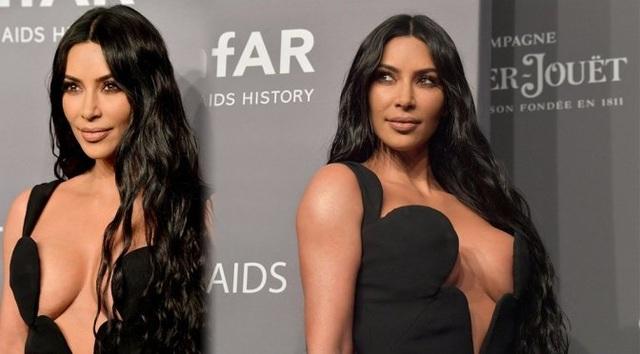 Kim Kardashian đeo ba lô đi học - 3