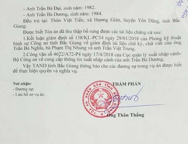 """Toà án tỉnh Bắc Giang còn """"ngâm"""" vụ dân kiện quan đến bao giờ? - 4"""