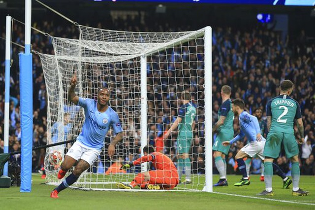 Man City 4-3 Tottenham: Cơn mưa bàn thắng - 14