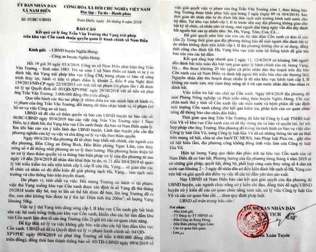 """Vụ """"hôi"""" vạng: Xã khẳng định không cướp hàng tỷ đồng tiền vạng của dân - 3"""