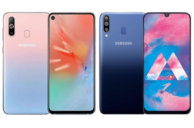 Samsung trình làng Galaxy A60 và A40s màn hình đục lỗ, 4 camera - 1