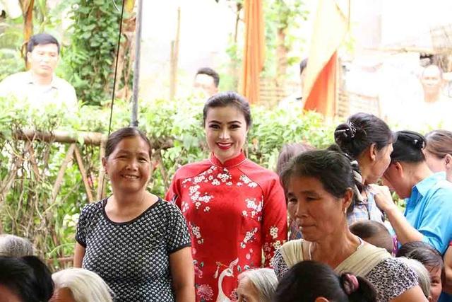 Hoa hậu Doanh nhân hoàn vũ 2019 đồng hành cùng Dân trí khởi công xây trường ở Phú Thọ - 6