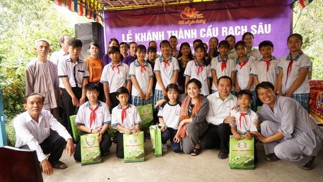 Khánh thành cây cầu dân sinh giúp người nghèo tại ấp Sơn Đông - 3