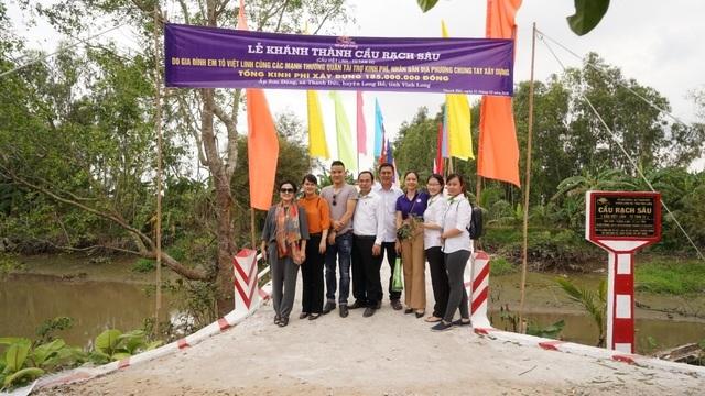 Khánh thành cây cầu dân sinh giúp người nghèo tại ấp Sơn Đông - 4