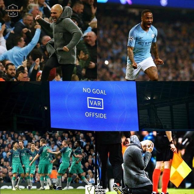 """Công nghệ VAR """"thổi bay"""" ít nhất 12 triệu euro của Man City"""