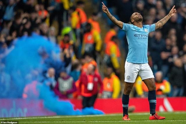 Nhìn lại cơn mưa bàn thắng ở trận đấu giữa Man City và Tottenham - 5