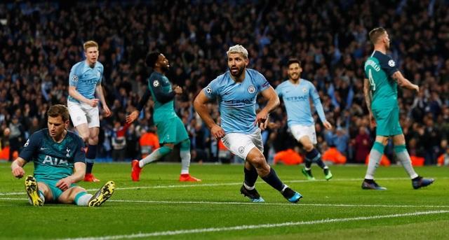 Nhìn lại cơn mưa bàn thắng ở trận đấu giữa Man City và Tottenham - 15