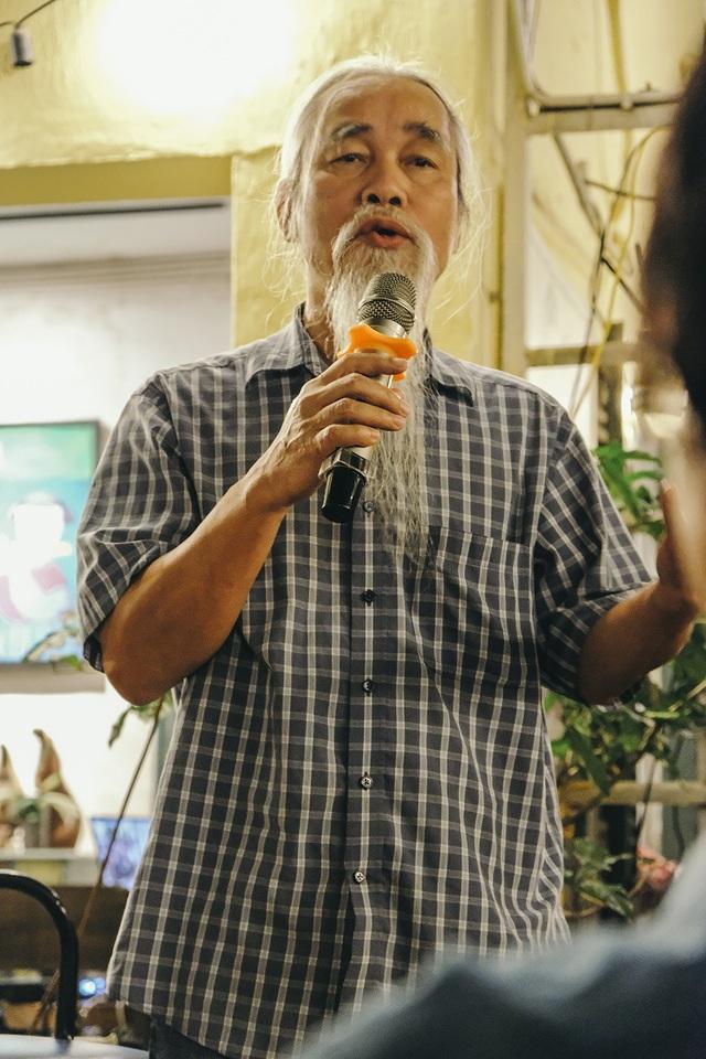 NSND Hoàng Dũng nghẹn ngào khi đọc thơ Lưu Quang Vũ viết cho Xuân Quỳnh - 5