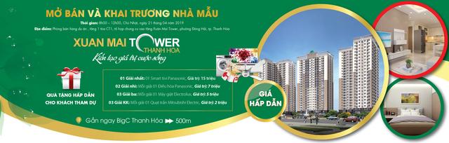 Dự án Xuân Mai Tower- Thanh Hóa mở bán chính thức và khai trương căn hộ mẫu - 1