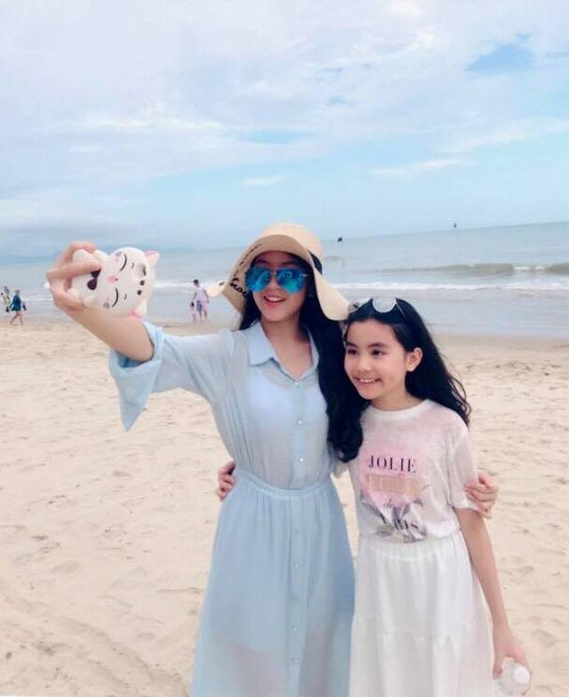 Con gái Quyền Linh ra dáng thiếu nữ xinh đẹp dịu dàng như Hoa hậu tương lai - 6