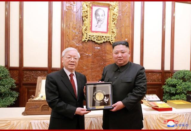 Chủ tịch Kim Jong-un gửi lời cảm ơn Tổng Bí thư, Chủ tịch nước Nguyễn Phú Trọng - 1