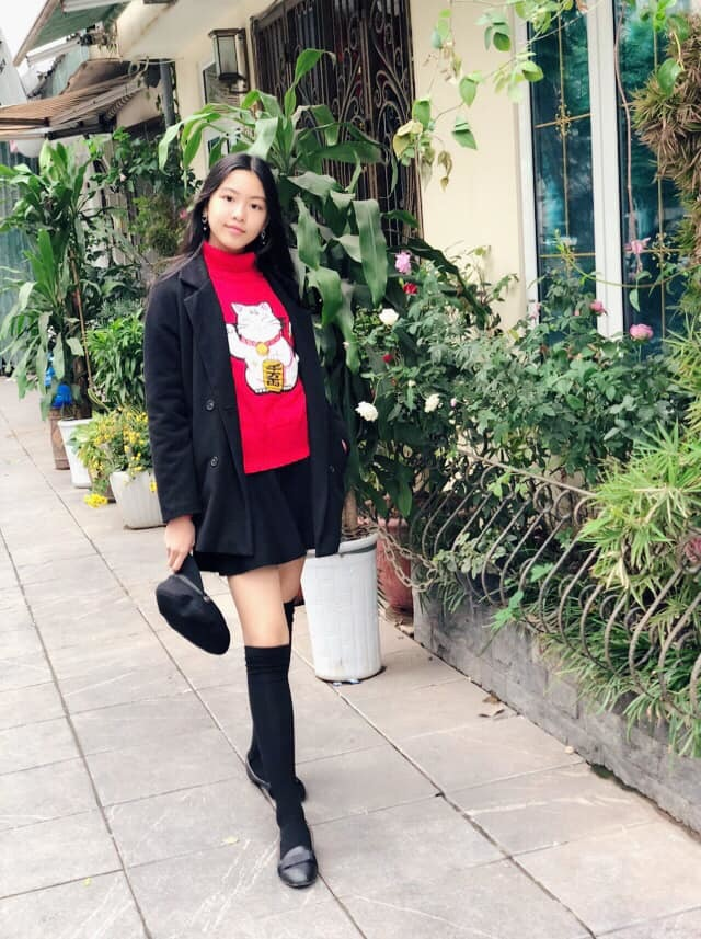 Con gái Quyền Linh ra dáng thiếu nữ xinh đẹp dịu dàng như Hoa hậu tương lai - 5
