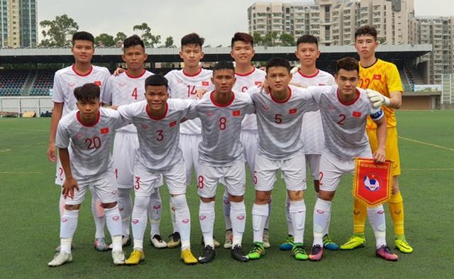 U18 Việt Nam thắng U18 Singapore trận ra quân giải U18 quốc tế - 1